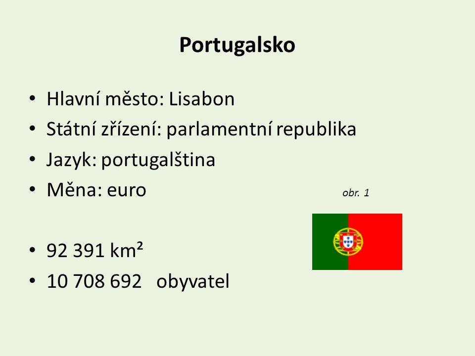 Portugalsko Hlavní město: Lisabon