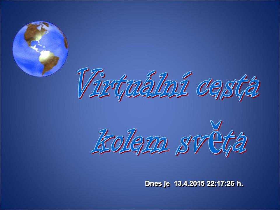 Virtuální cesta kolem světa