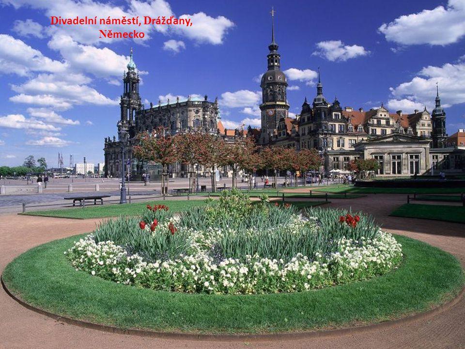 Divadelní náměstí, Drážďany, Německo