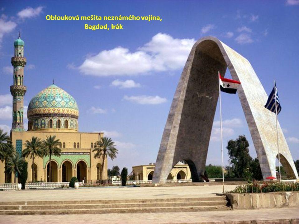 Oblouková mešita neznámého vojína,