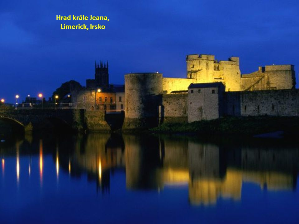 Hrad krále Jeana, Limerick, Irsko