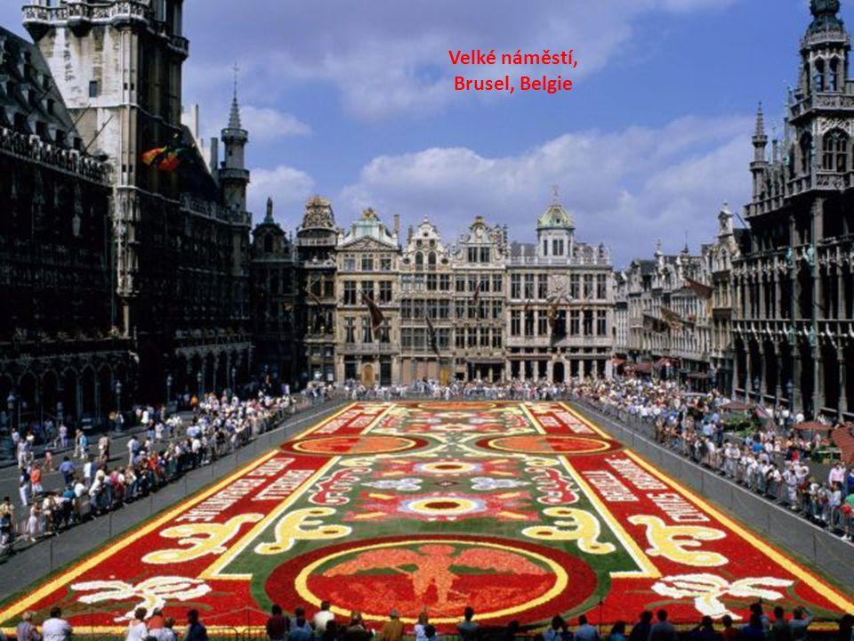 Velké náměstí, Brusel, Belgie
