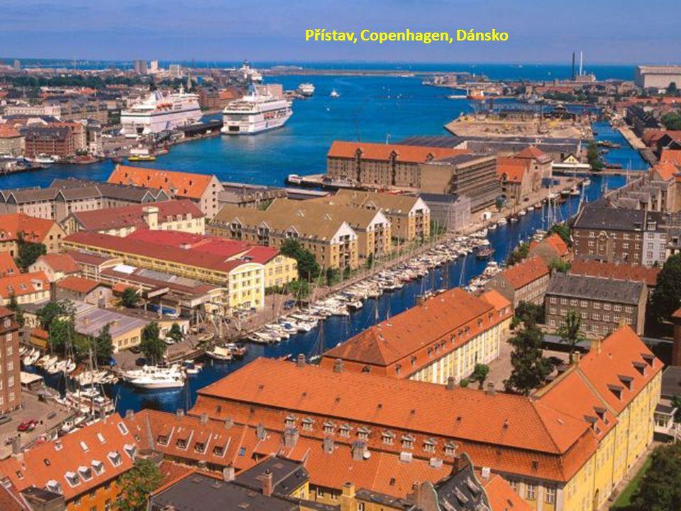 Přístav, Copenhagen, Dánsko