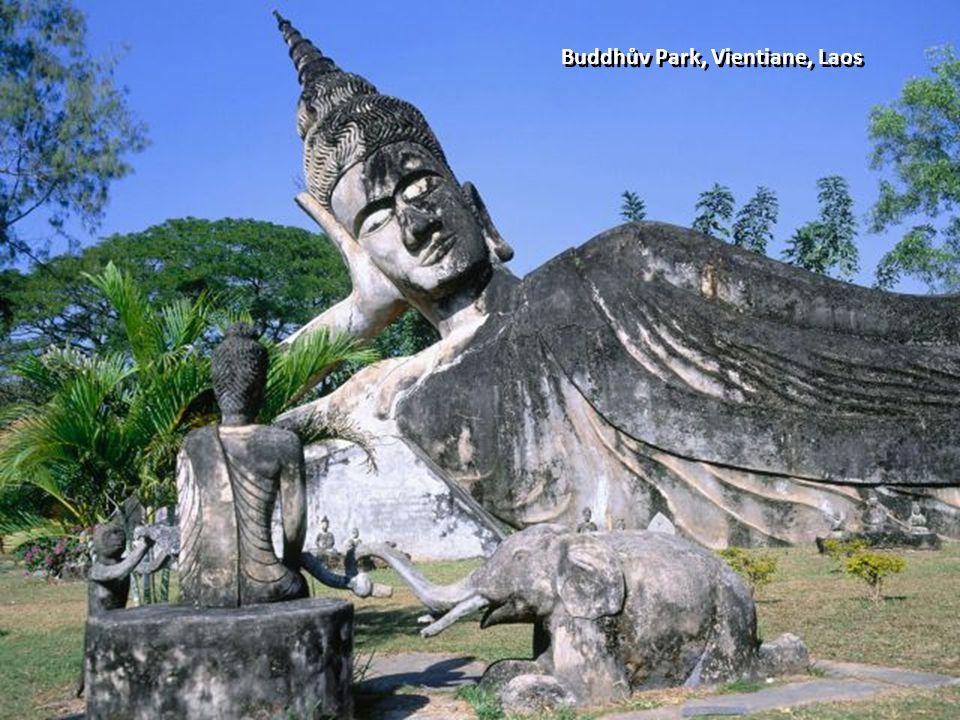 Buddhův Park, Vientiane, Laos