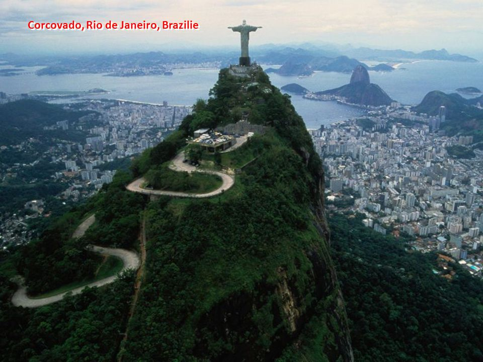 Corcovado, Rio de Janeiro, Brazilie