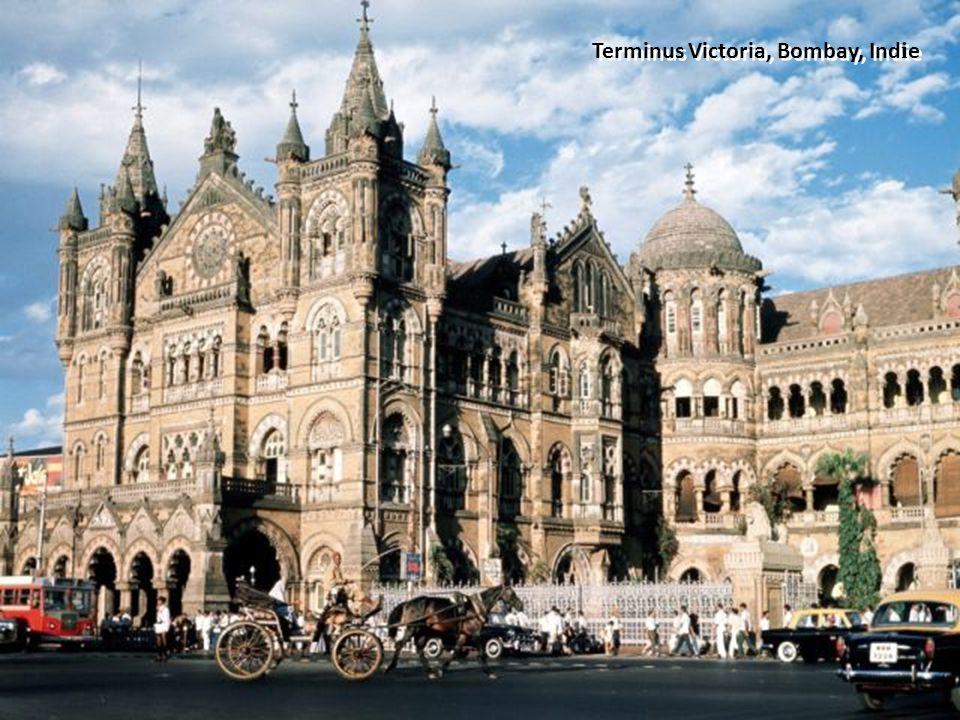Terminus Victoria, Bombay, Indie