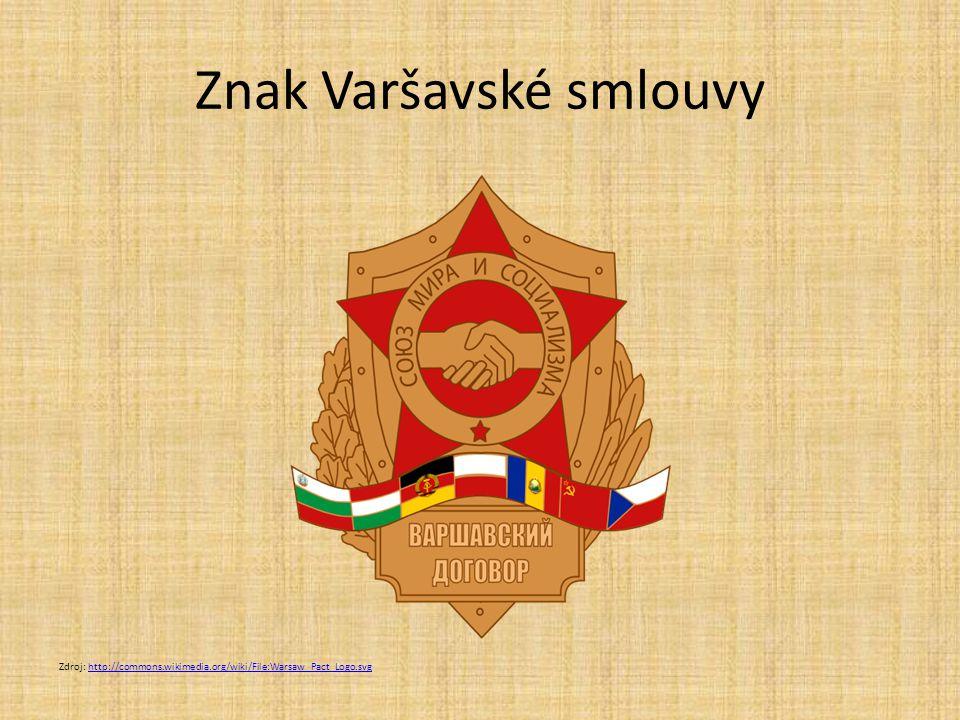 Znak Varšavské smlouvy