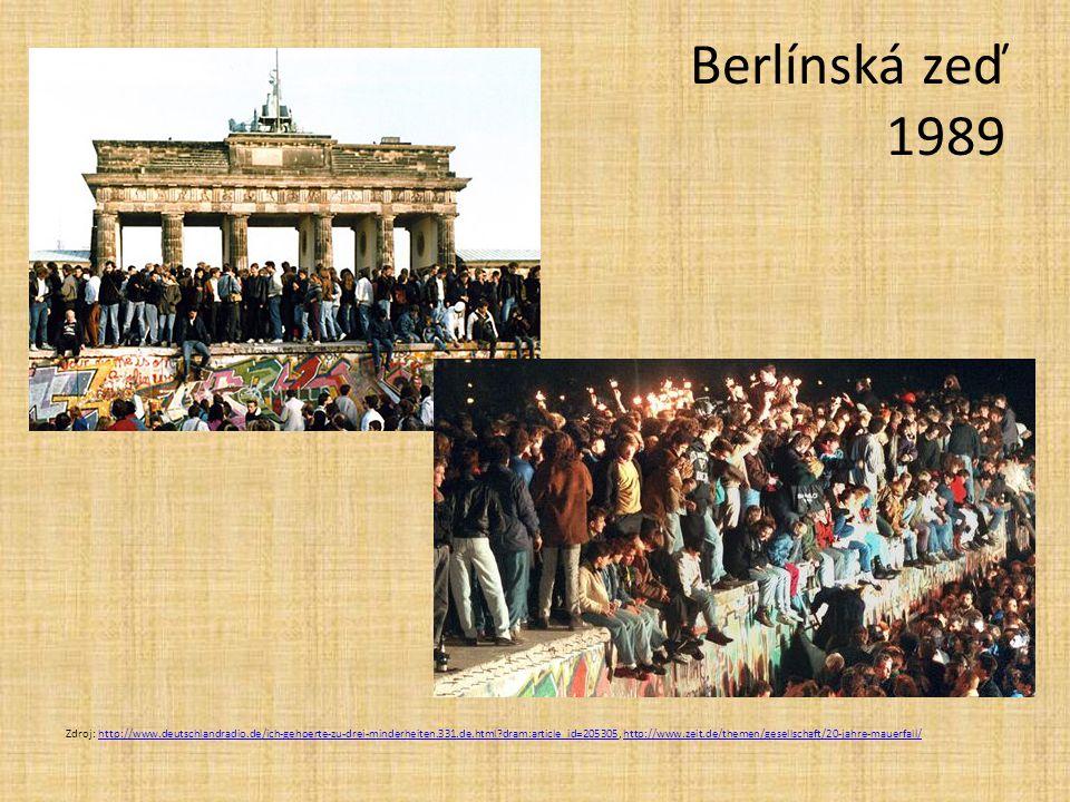 Berlínská zeď 1989
