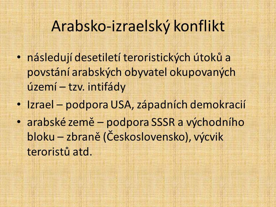 Arabsko-izraelský konflikt