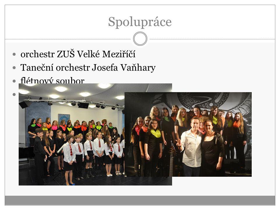 Spolupráce orchestr ZUŠ Velké Meziříčí Taneční orchestr Josefa Vaňhary