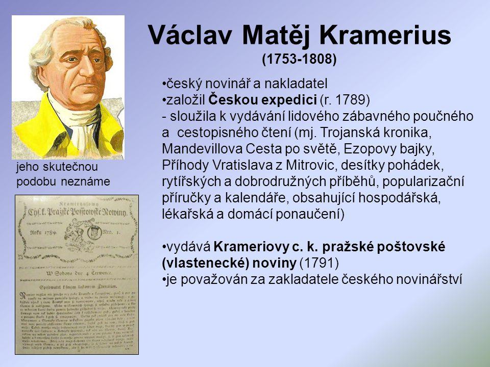 Václav Matěj Kramerius (1753-1808)