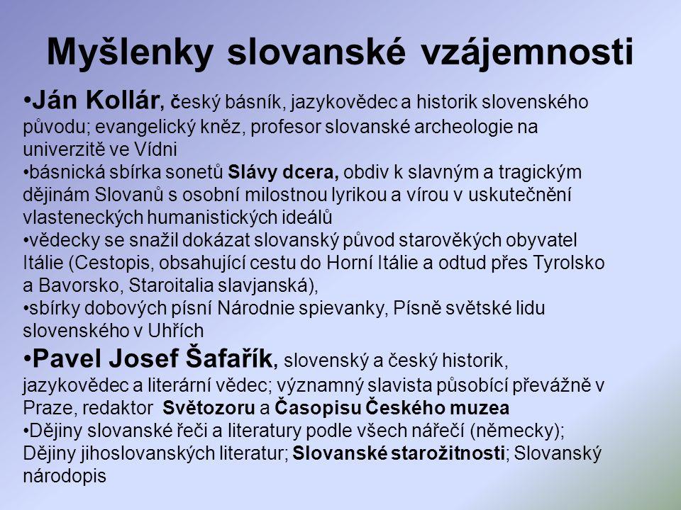 Myšlenky slovanské vzájemnosti