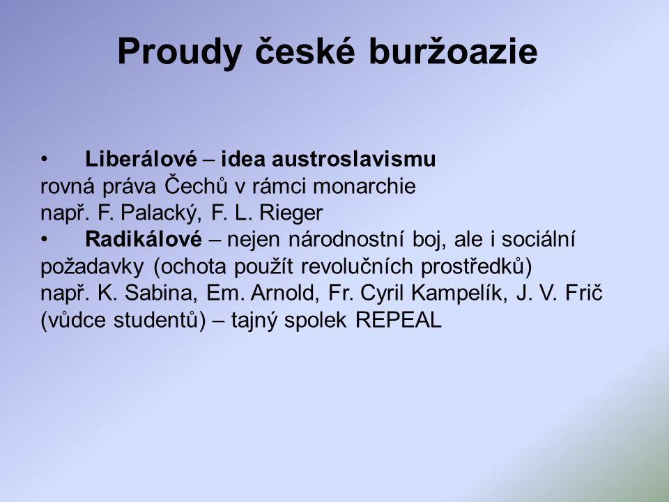 Proudy české buržoazie
