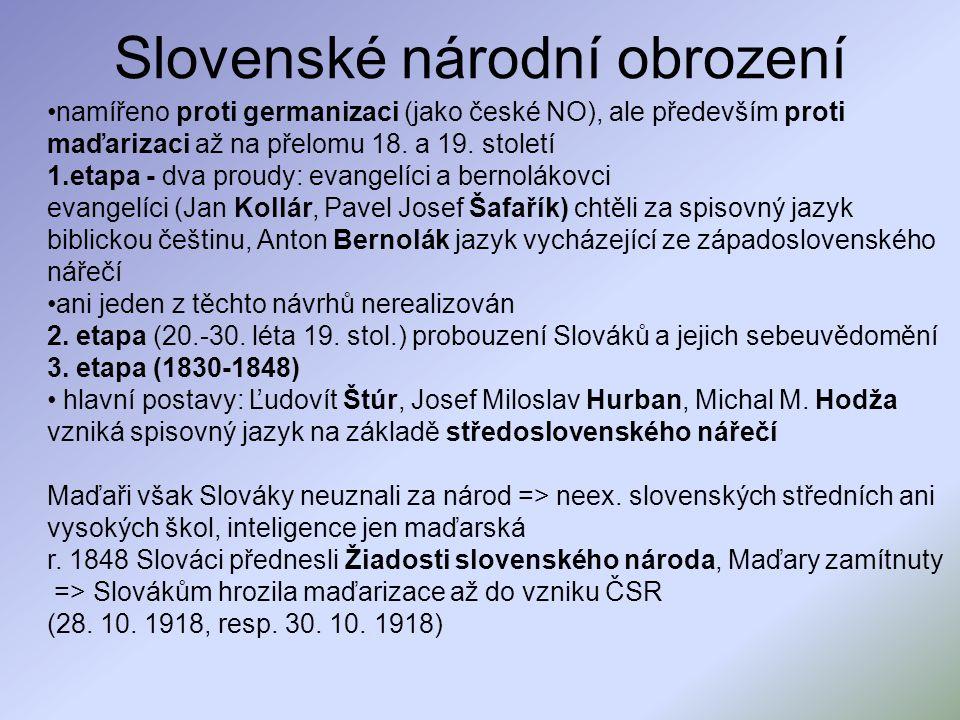 Slovenské národní obrození