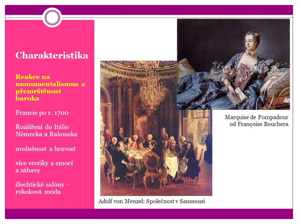 Charakteristika Reakce na monumentalismus a přemrštěnost baroka