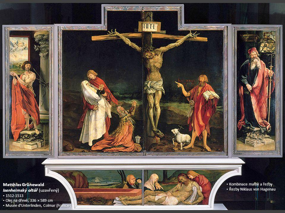 Isenheimský oltář (uzavřený)