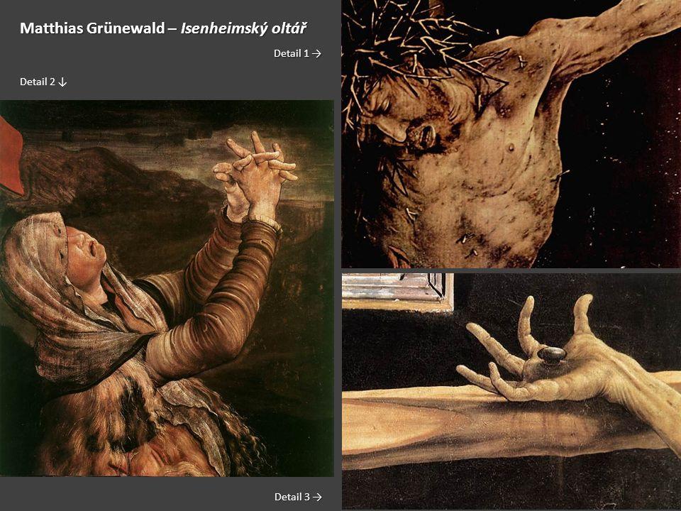 Matthias Grünewald – Isenheimský oltář