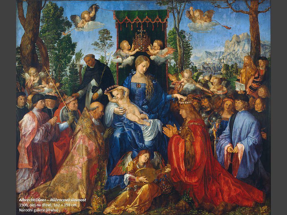 Albrecht Dürer – Růžencová slavnost