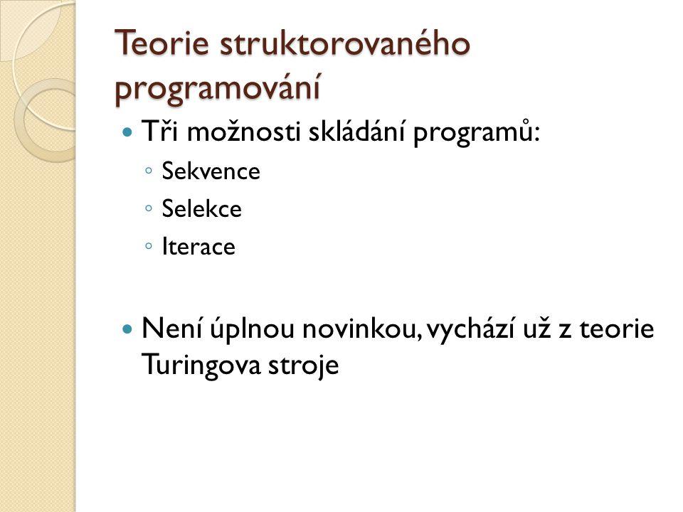Teorie struktorovaného programování