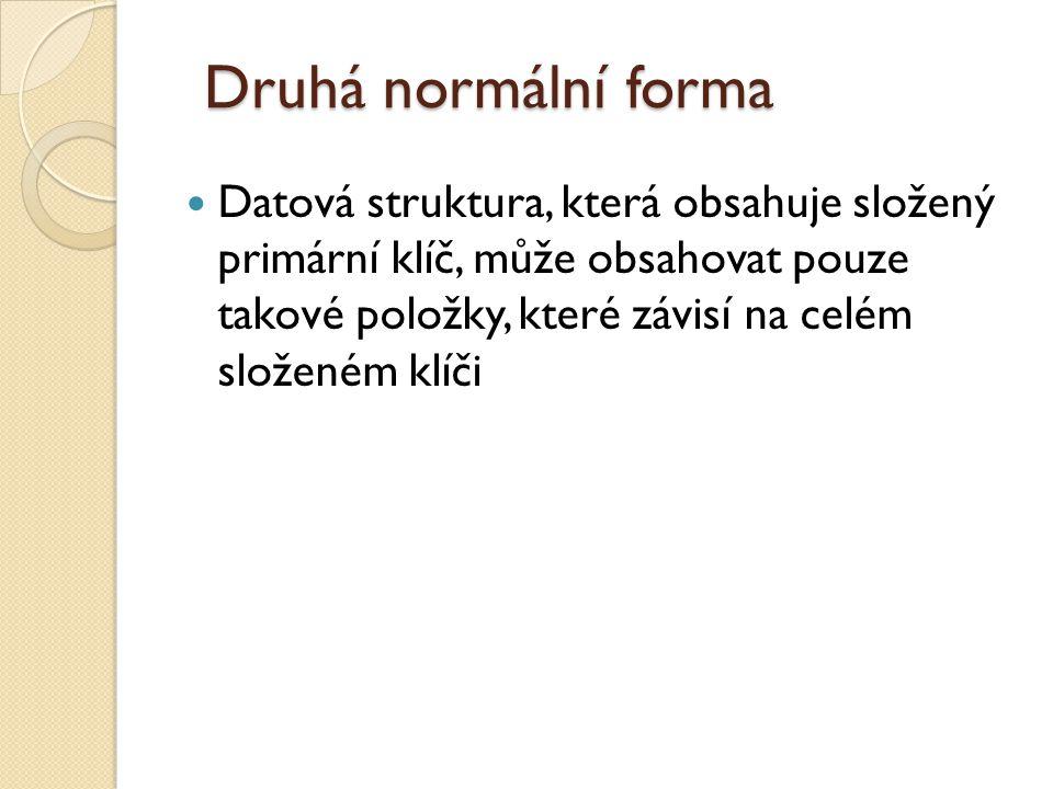 Druhá normální forma