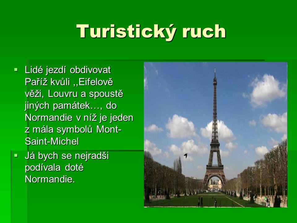 Turistický ruch