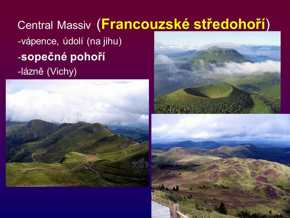 Central Massiv (Francouzské středohoří)