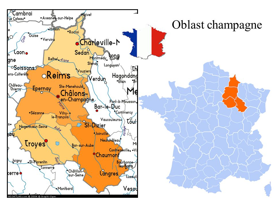 Oblast champagne