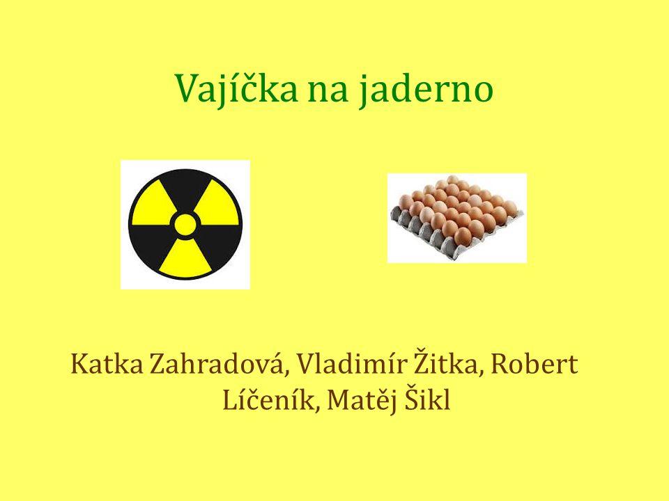 Katka Zahradová, Vladimír Žitka, Robert Líčeník, Matěj Šikl