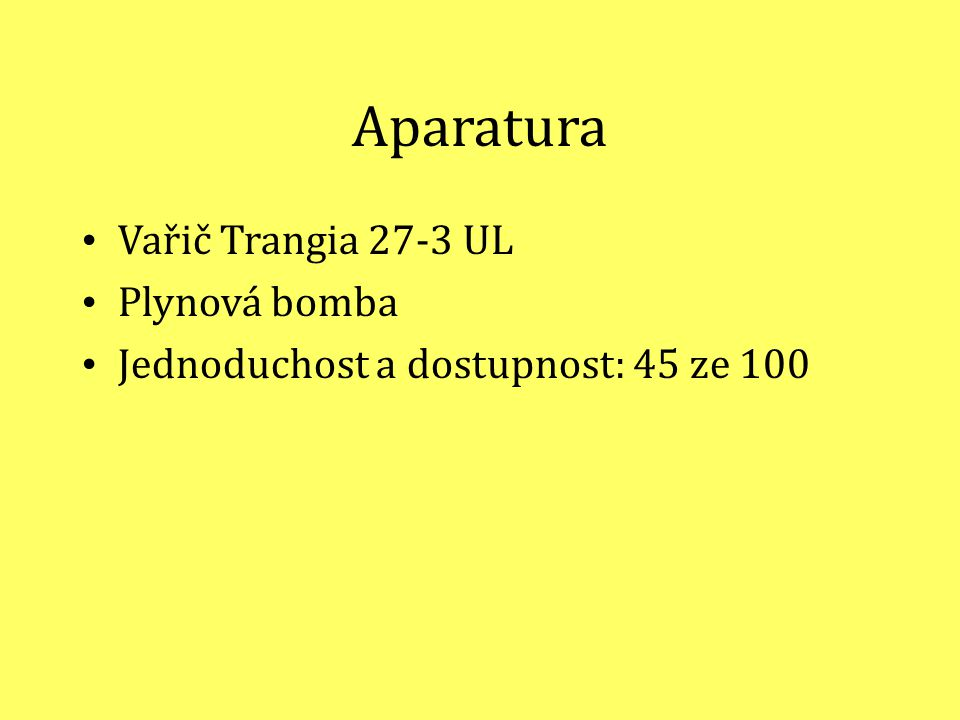 Aparatura Vařič Trangia 27-3 UL Plynová bomba