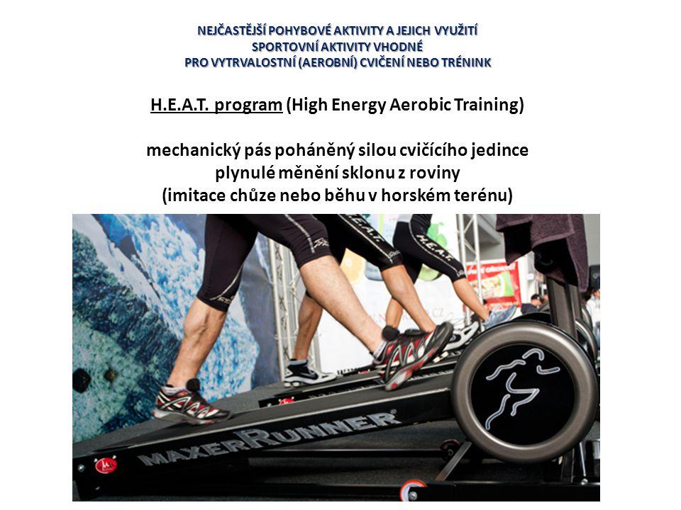 H.E.A.T. program (High Energy Aerobic Training)