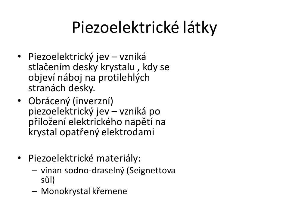 Piezoelektrické látky
