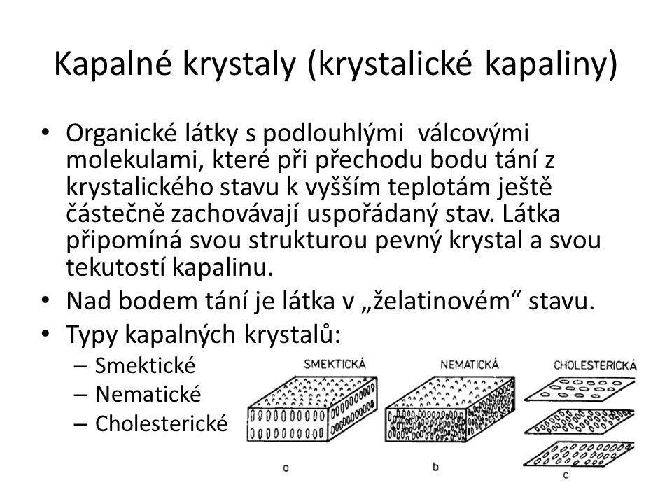 Kapalné krystaly (krystalické kapaliny)