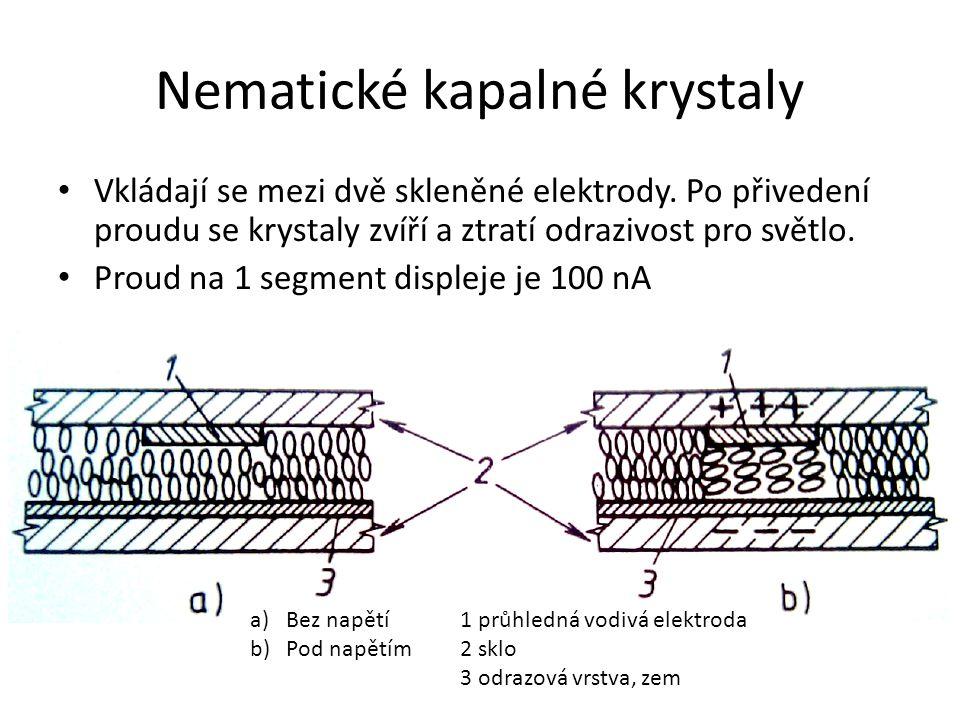 Nematické kapalné krystaly