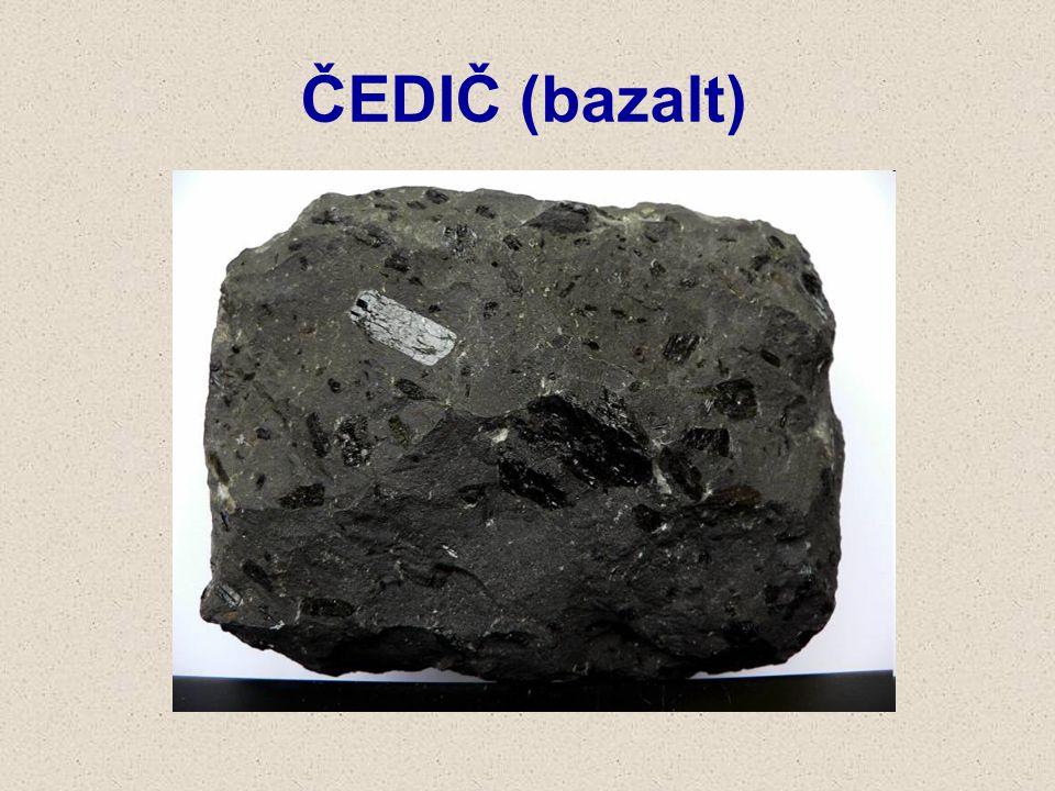 ČEDIČ (bazalt)