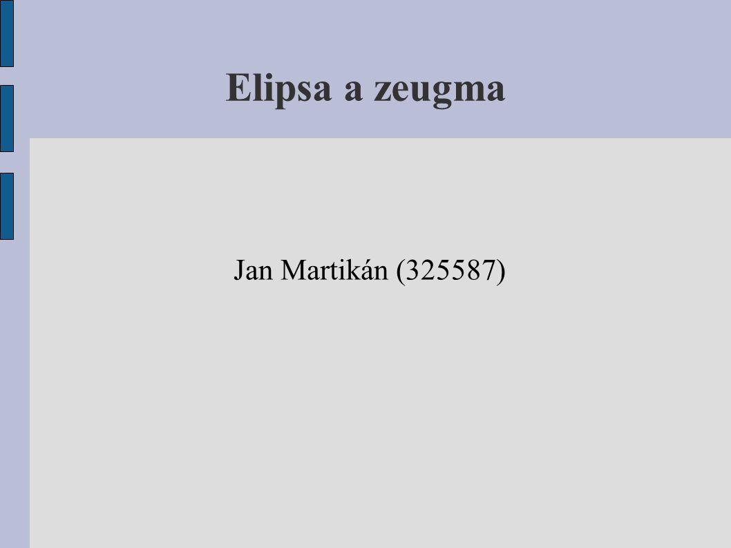 Elipsa a zeugma Jan Martikán (325587)