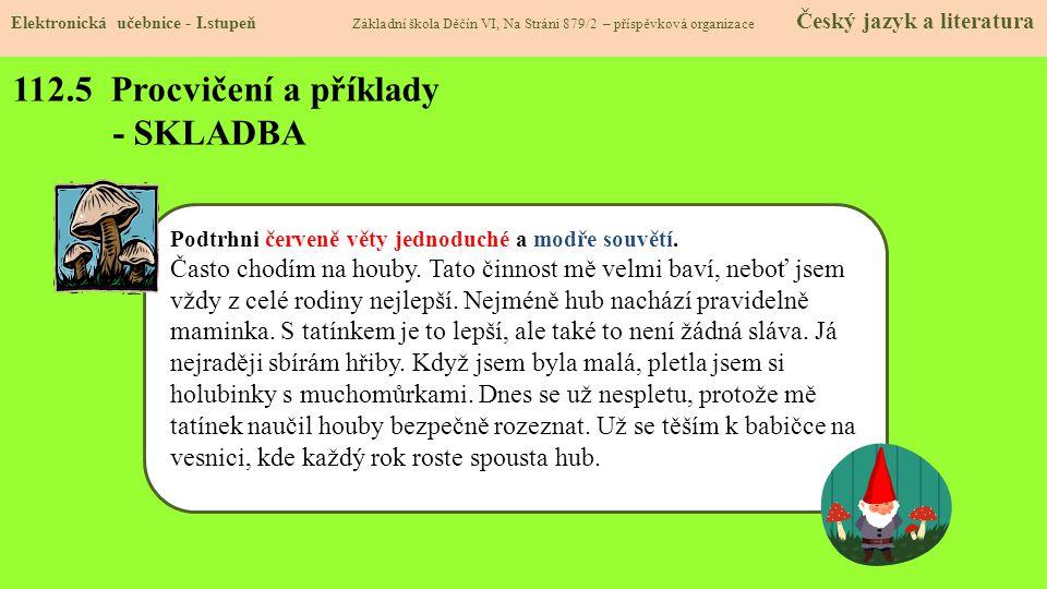 112.5 Procvičení a příklady - SKLADBA