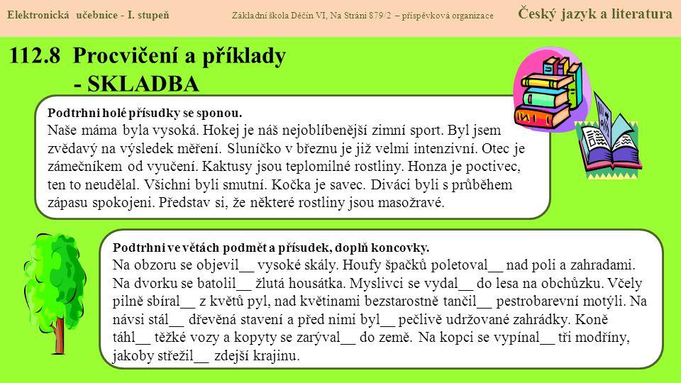 112.8 Procvičení a příklady - SKLADBA