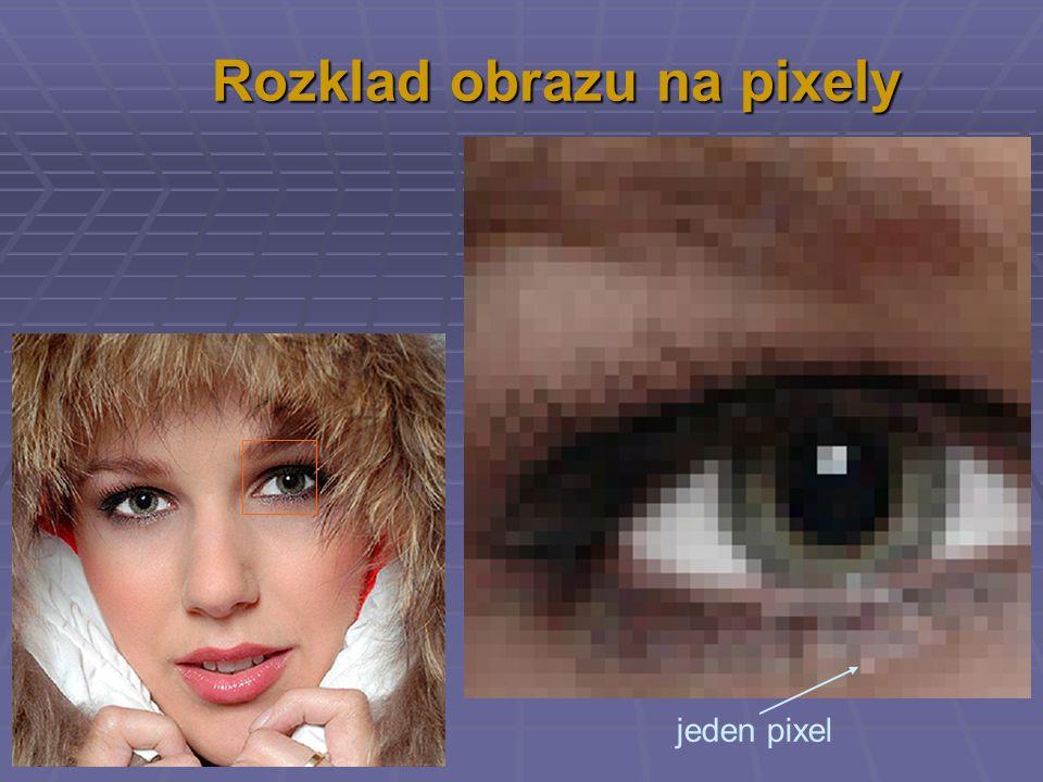 Rozklad obrazu na pixely