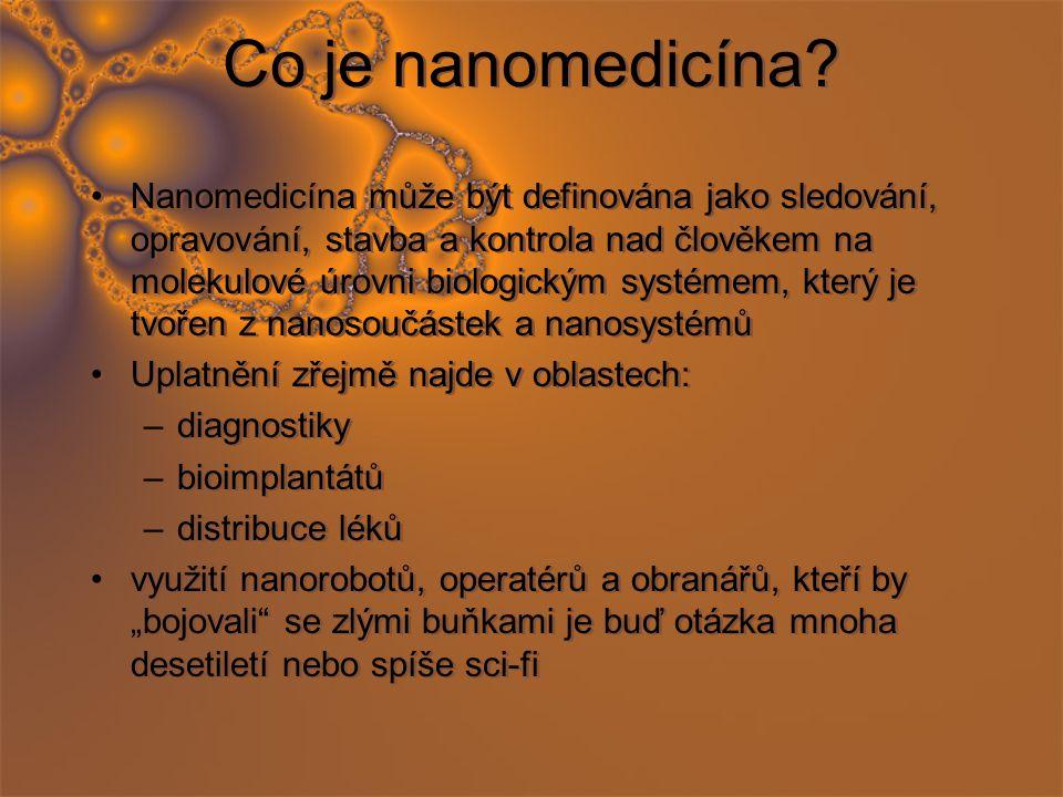 Co je nanomedicína