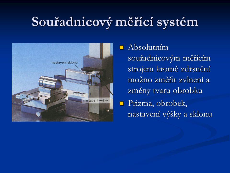 Souřadnicový měřící systém