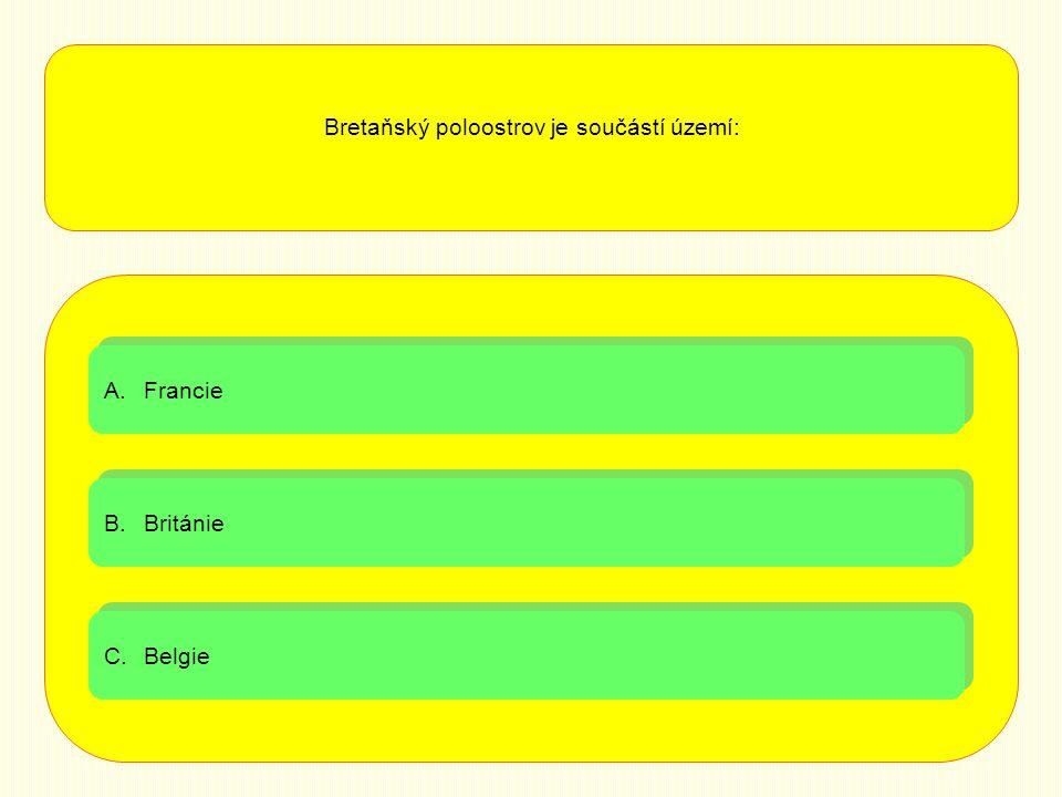 Bretaňský poloostrov je součástí území: