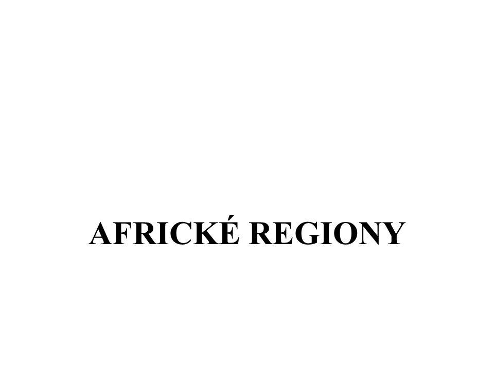 AFRICKÉ REGIONY