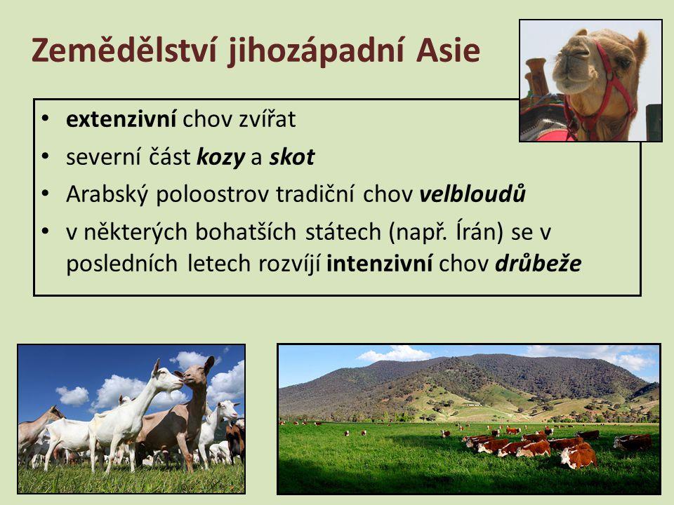 Zemědělství jihozápadní Asie