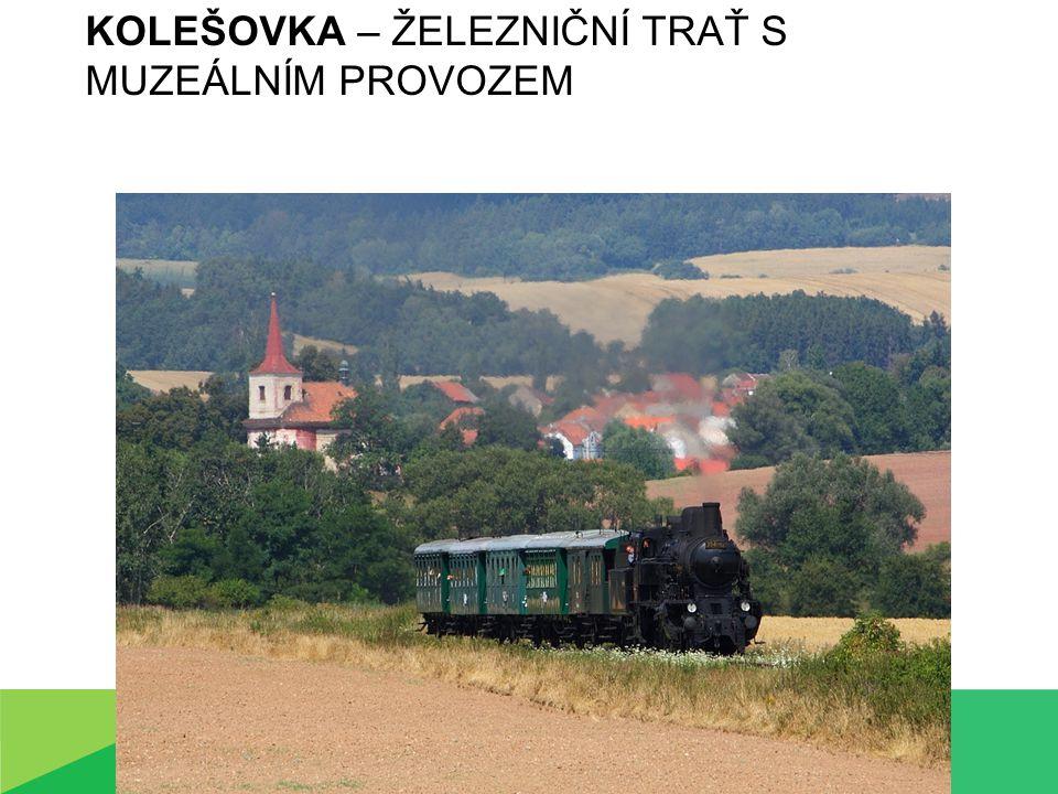 Kolešovka – železniční trať s muzeálním provozem