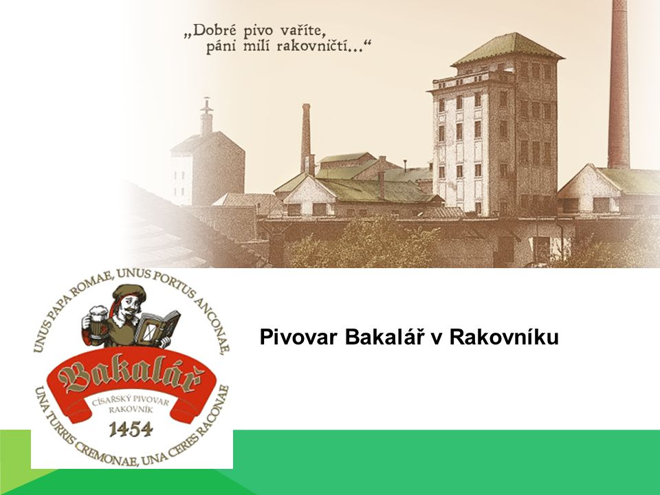 Pivovar Bakalář v Rakovníku