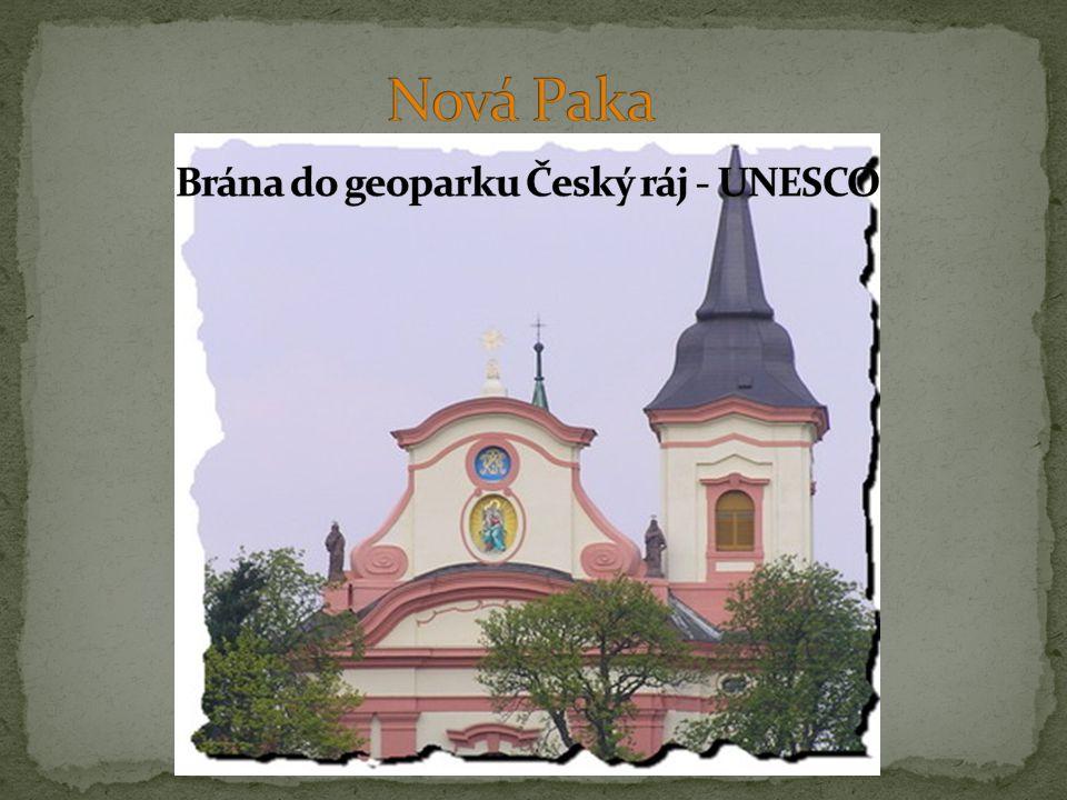 Nová Paka Brána do geoparku Český ráj - UNESCO