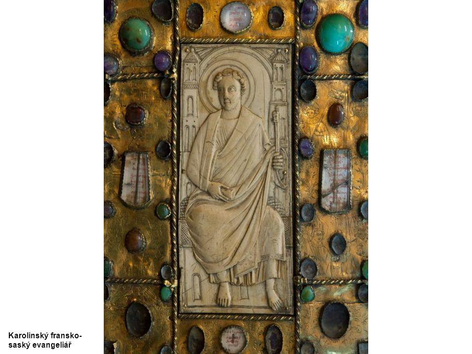 Karolinský fransko-saský evangeliář