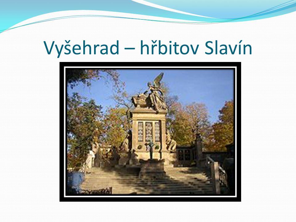 Vyšehrad – hřbitov Slavín