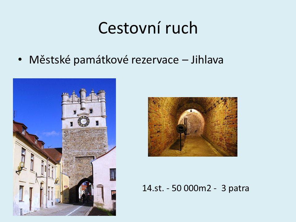 Cestovní ruch Městské památkové rezervace – Jihlava