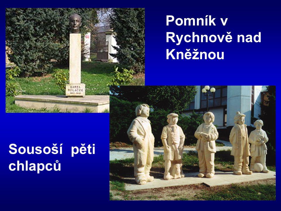 Pomník v Rychnově nad Kněžnou